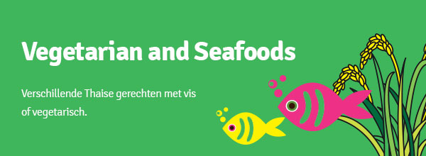 Vegetarian and Seafoods
